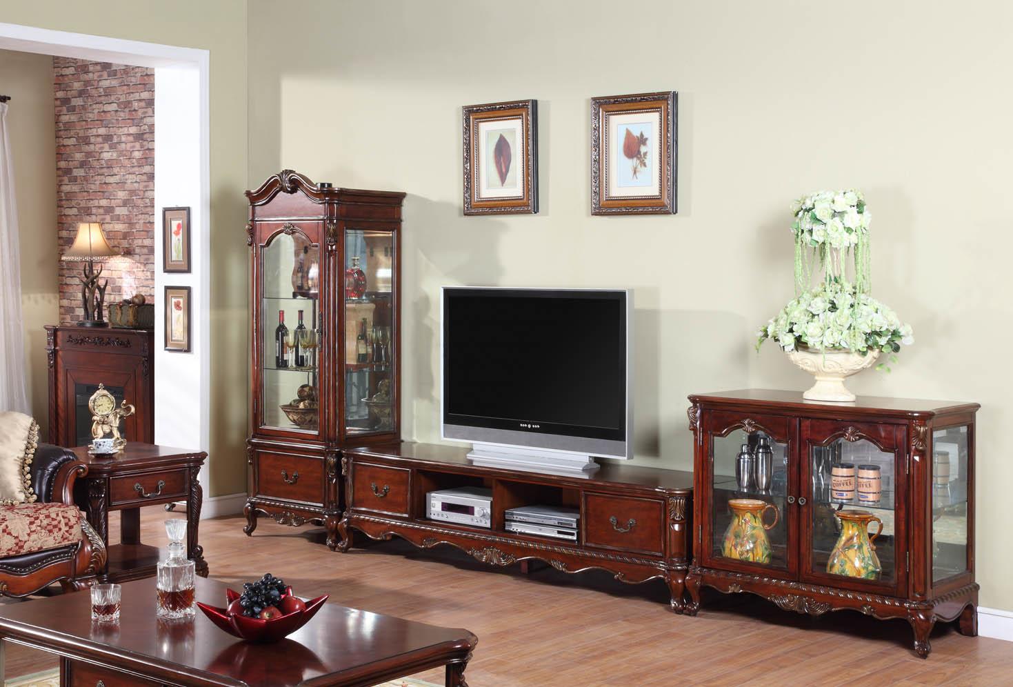 卧室电视柜的挑选选择以及风格
