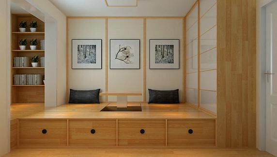 卧室榻榻米装修效果图欣赏