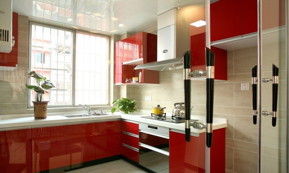 厨房柜子设计,厨房柜子装修效果图