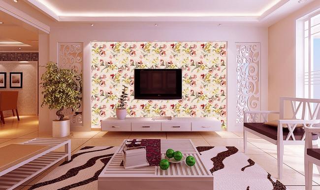 电视背景墙纸设计抢先看