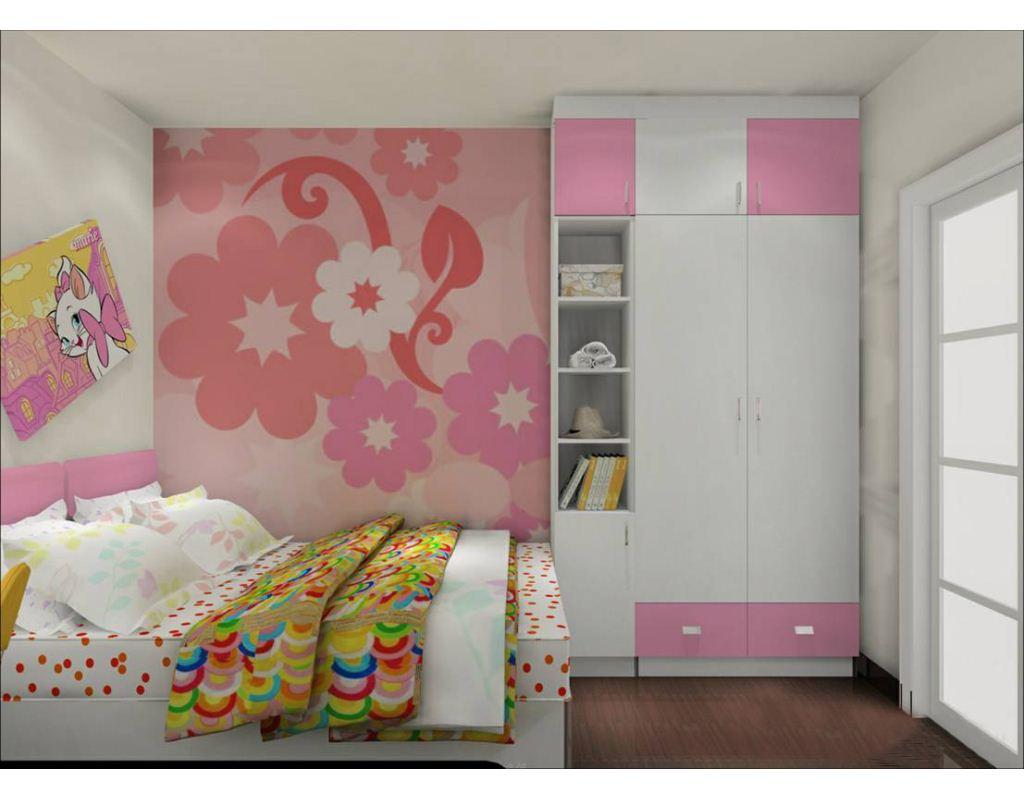儿童房衣柜效果图,给孩子自己的主见