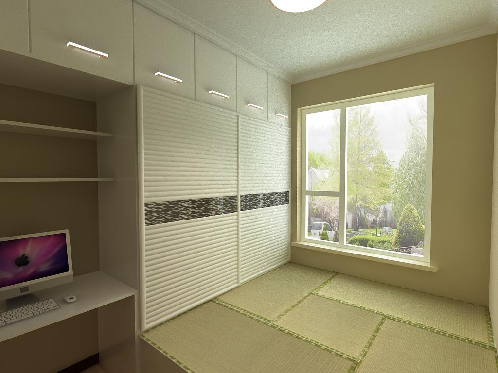 榻榻米卧室设计效果图欣赏!