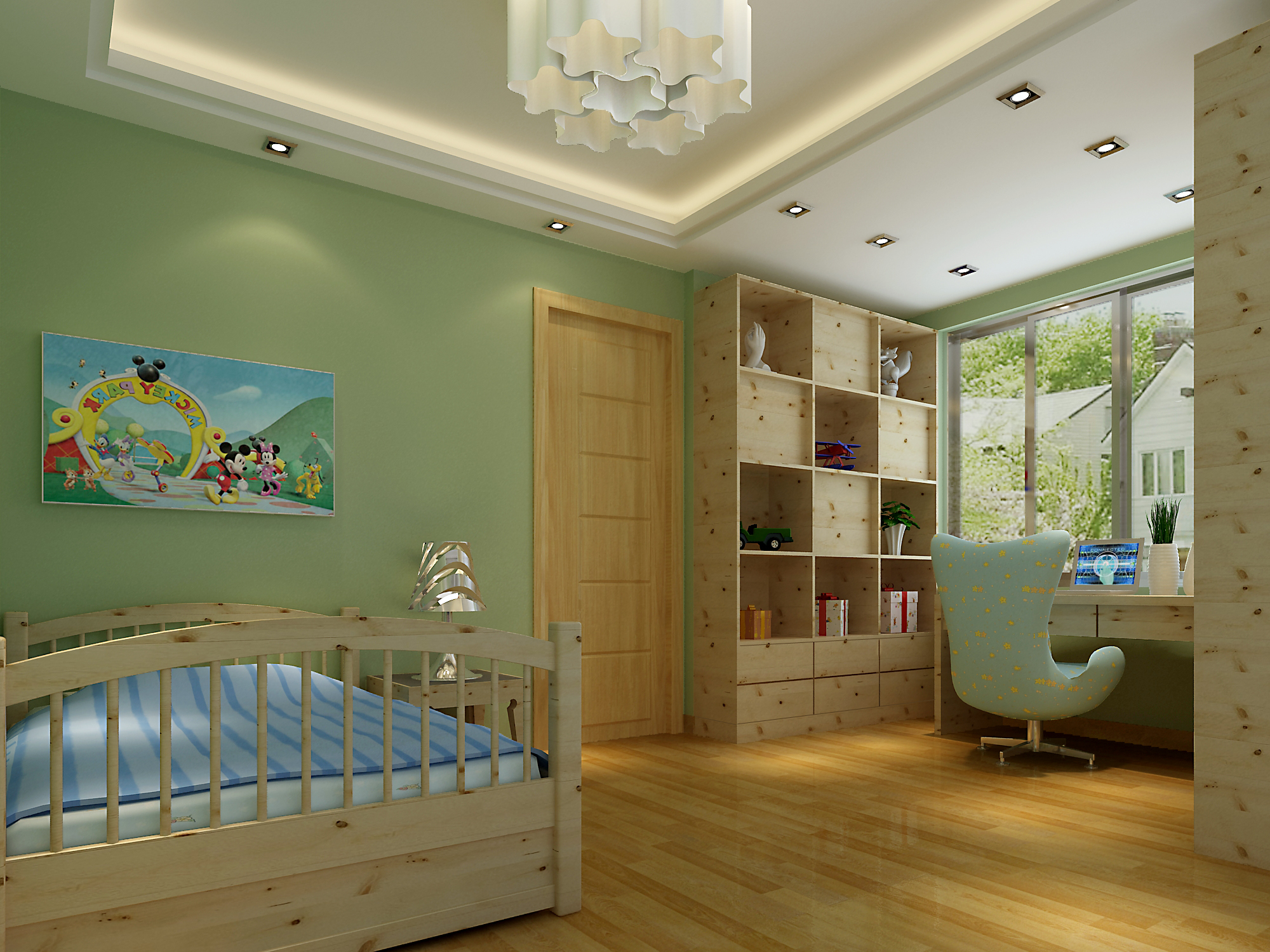 儿童房装修设计解析,给孩子最好的家!