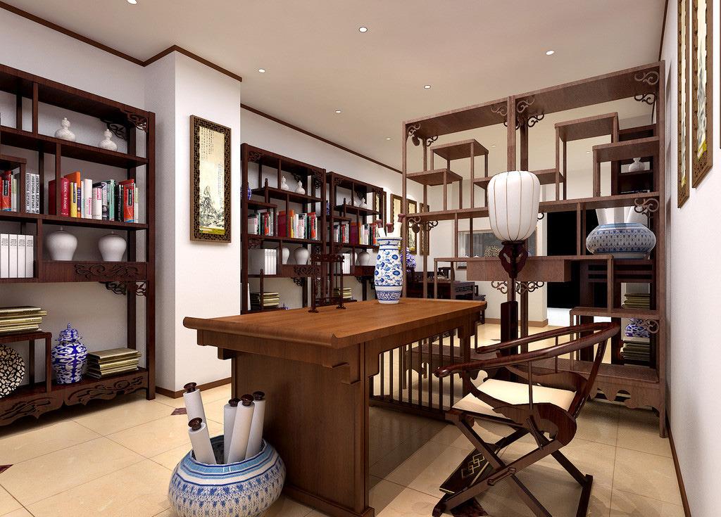 书房家具设计有哪些搭配技巧?