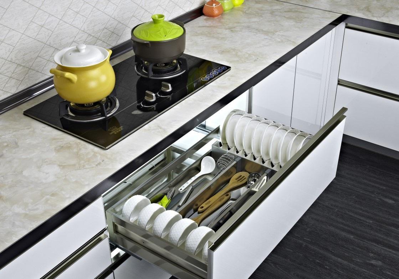 厨房配置知多少,厨房拉篮种类大揭晓