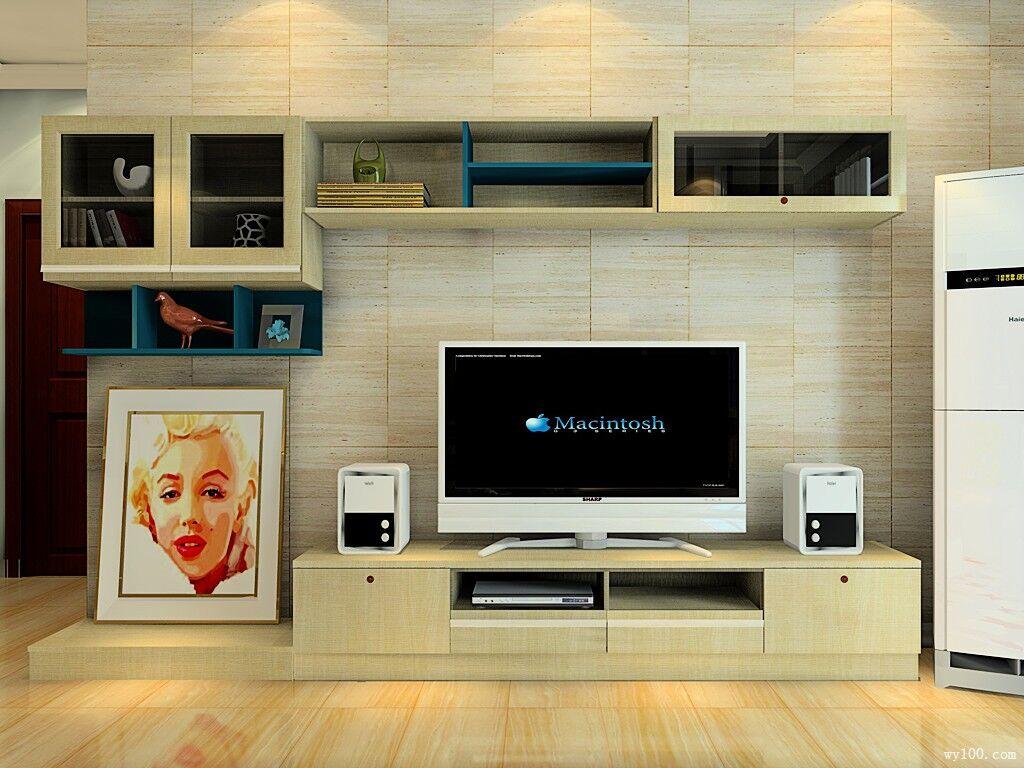多样电视机背景墙效果图赏析