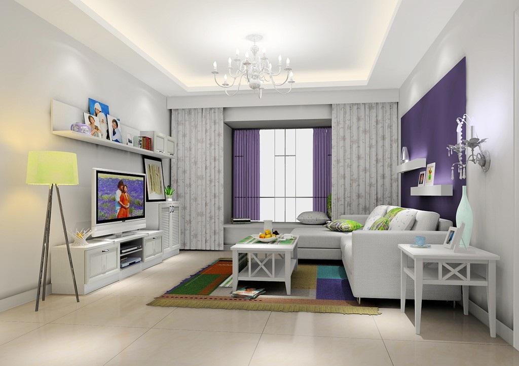 客厅吊灯装饰,室内客厅吊灯图片欣赏