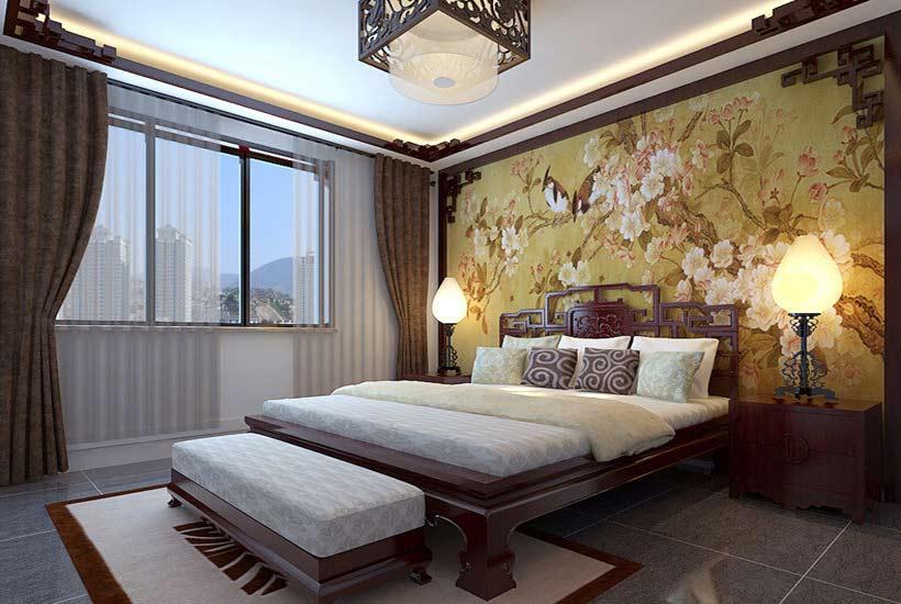 中式卧室装修,传统与现代不同的美!