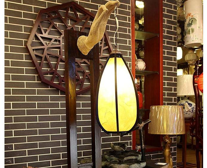 中式落地灯的款式类型简介