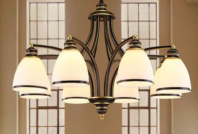 灯具的选择之客厅简约吊灯