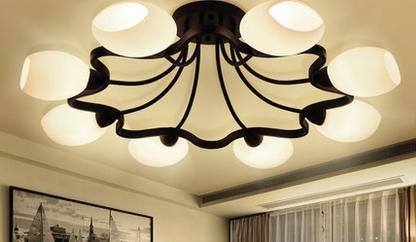 灯具的选择之不同款式的卧室灯