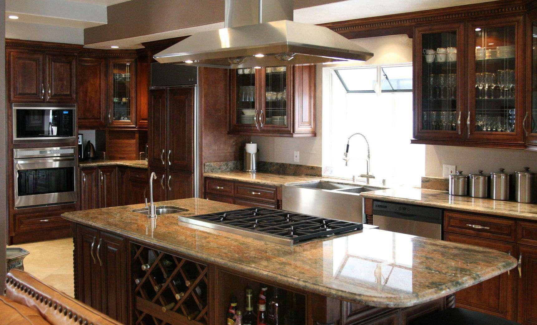 如何确定厨房橱柜台面尺寸?