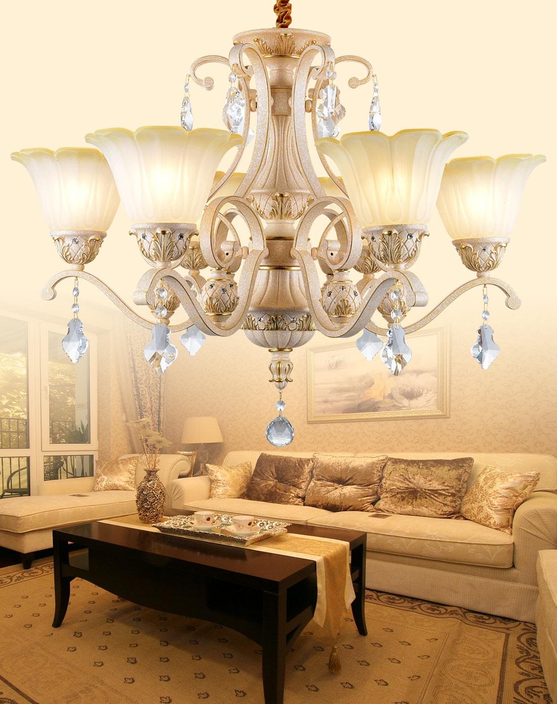 客厅水晶吊灯款式类型介绍
