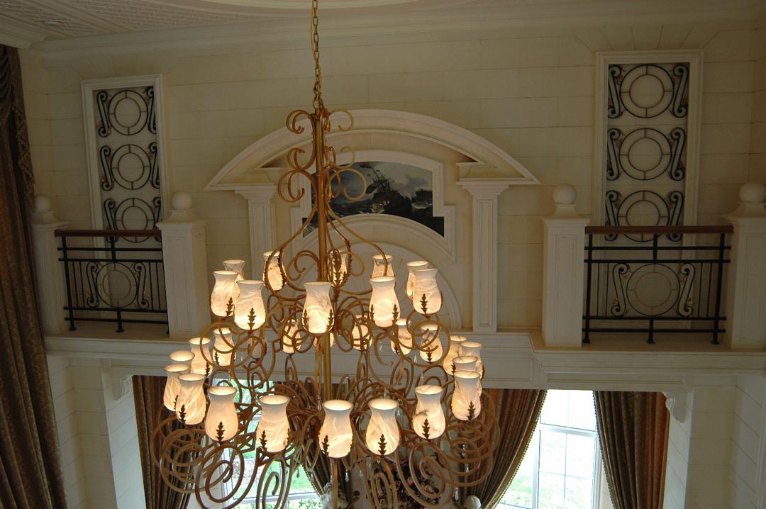 欧式灯具类型介绍,欧式灯具图片赏析