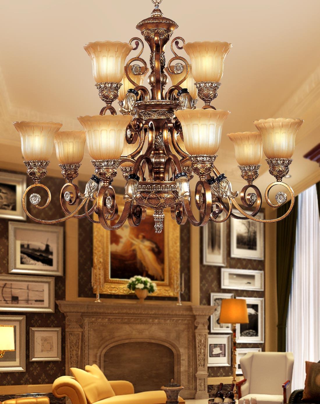 客厅吊灯款式,客厅吊灯图片赏析