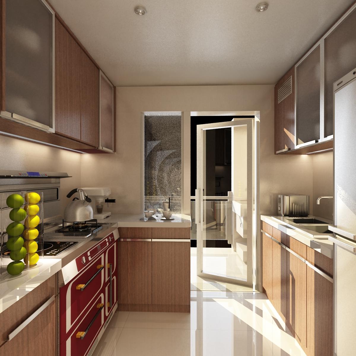 小厨房空间利用大招,超简便!