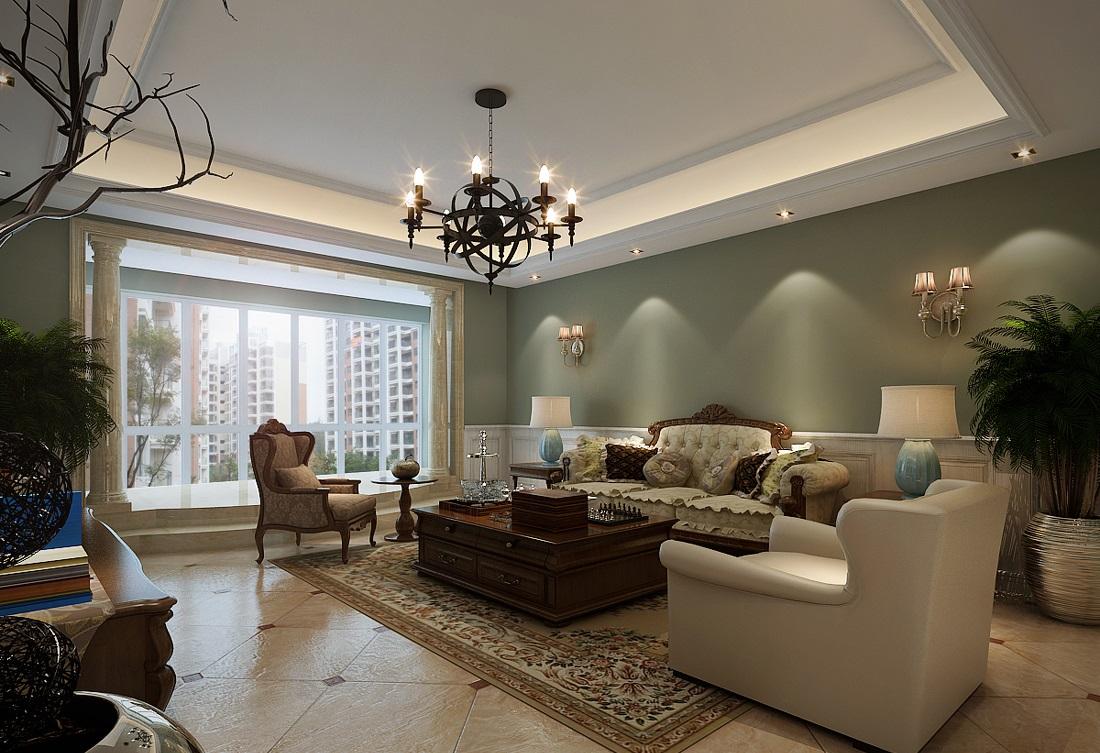 美式客厅吊顶装修要点有哪些呢?