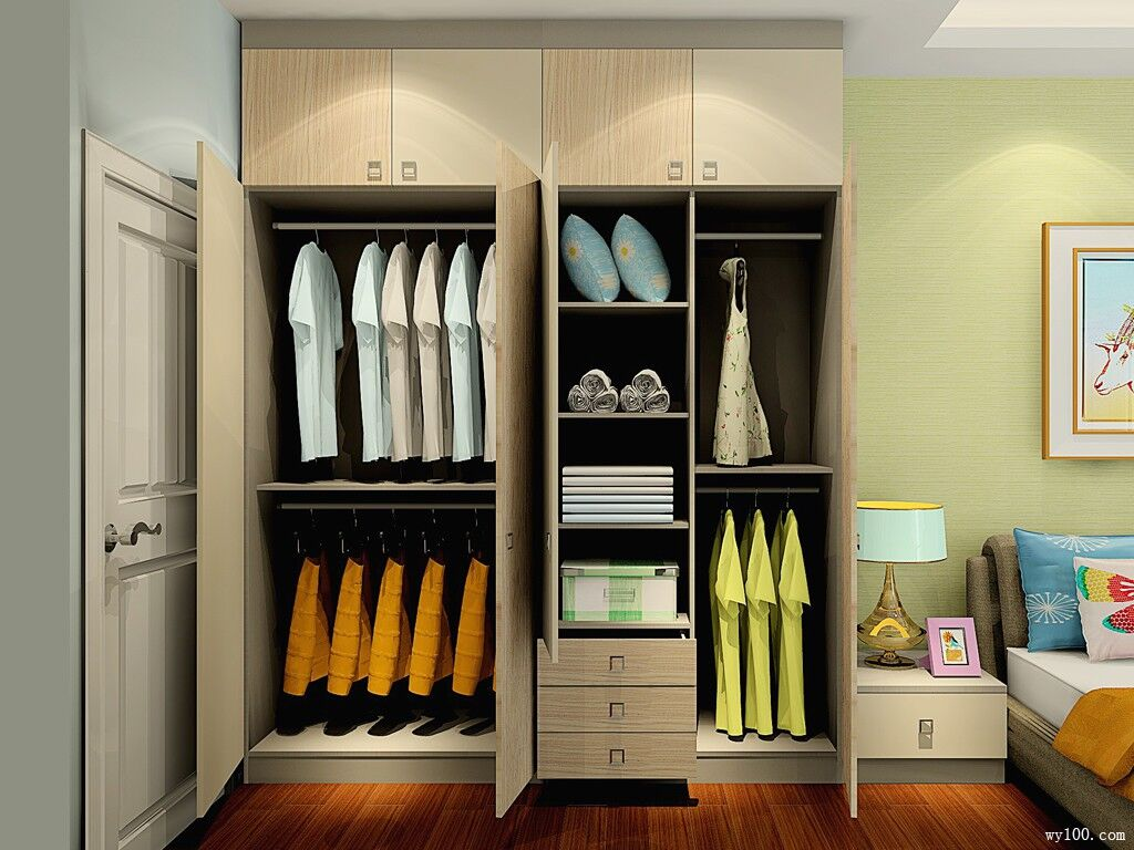 组合衣柜设计推荐,组合衣柜效果图赏析