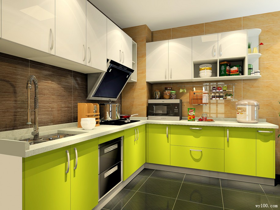 小厨房橱柜选购三大技巧