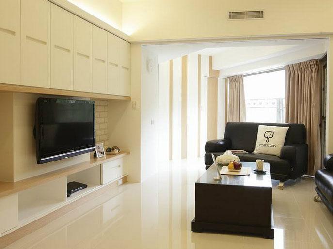 电视柜背景如何设计才好看?