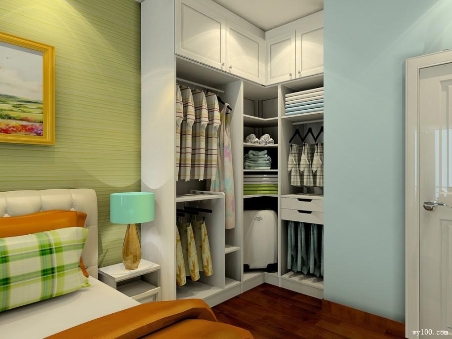 不同风格整体衣柜定制效果图赏析