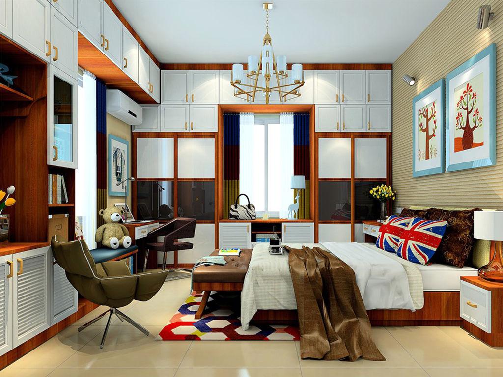 板式结构衣柜-小卧室衣柜的设计风格及分类