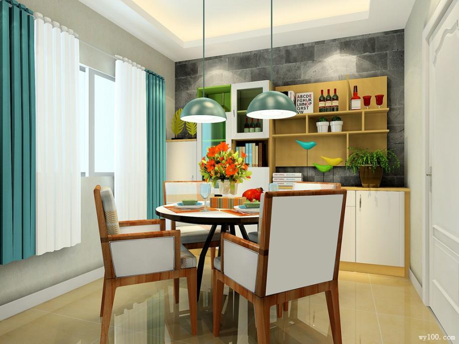 餐厅装修效果图-厨房与餐厅风水知识,你知道多少高清图片