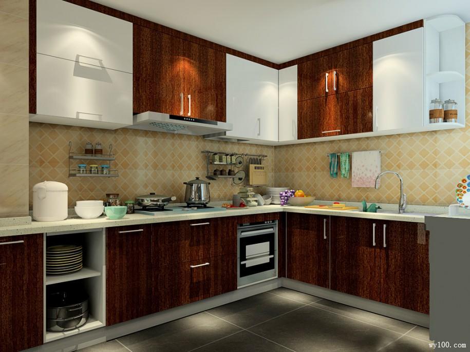 家装厨房橱柜生活中的好帮手
