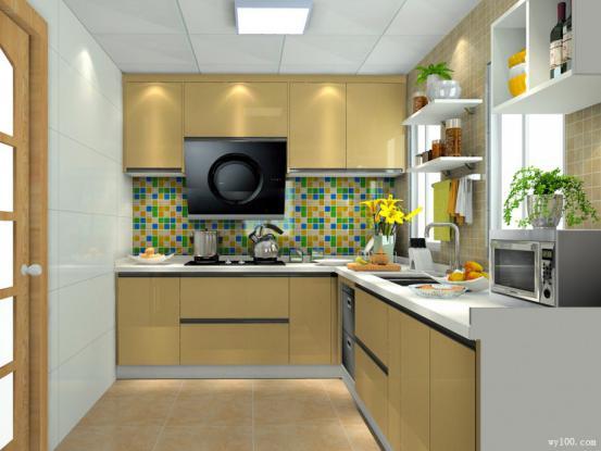 定做厨房橱柜的不同风格介绍