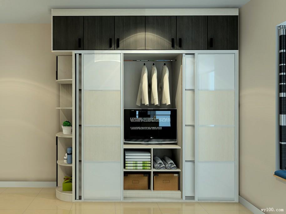 普通百姓家最喜欢的实用衣柜设计