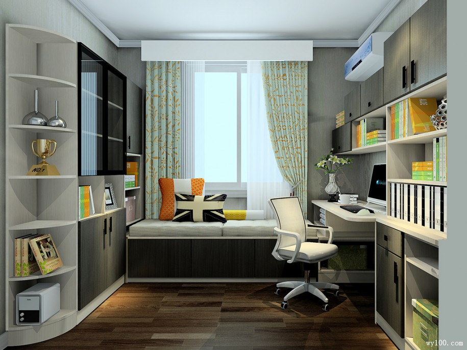 欧式书房家具所扮演的角色很重要