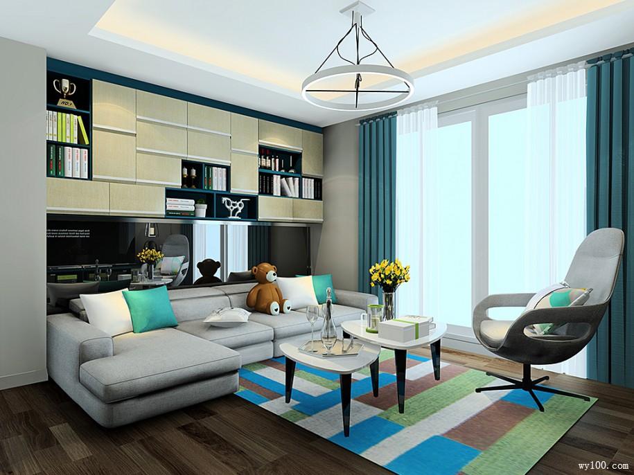 简洁客厅装修是一种很不错的选择