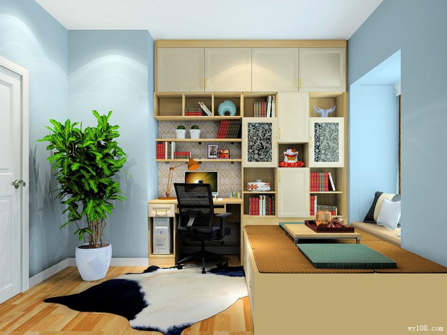 书房家具的尺寸以及选择