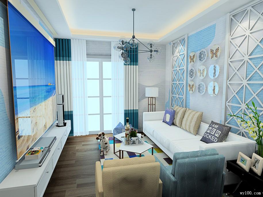 时尚的电视背景墙,给你一个潮流的客厅