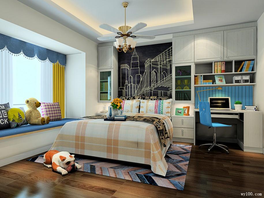 家里卧室装修图片_卧室吊柜高度多少合适-维意定制家具商城