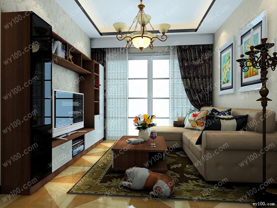 客厅照明设计-维意定制