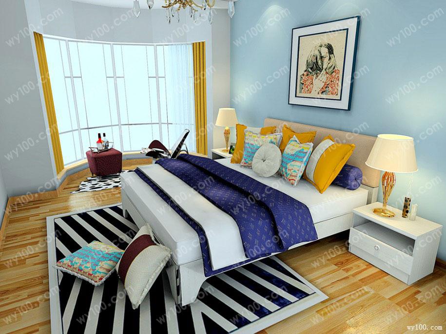 卧室色彩搭配―维意定制