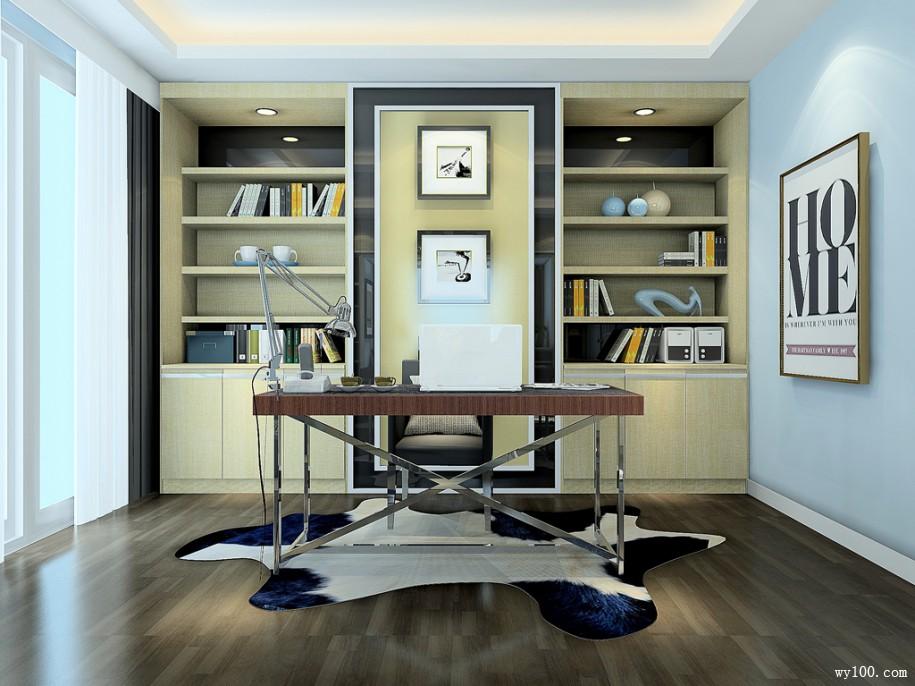 转角书柜设计-维意家具网上商场