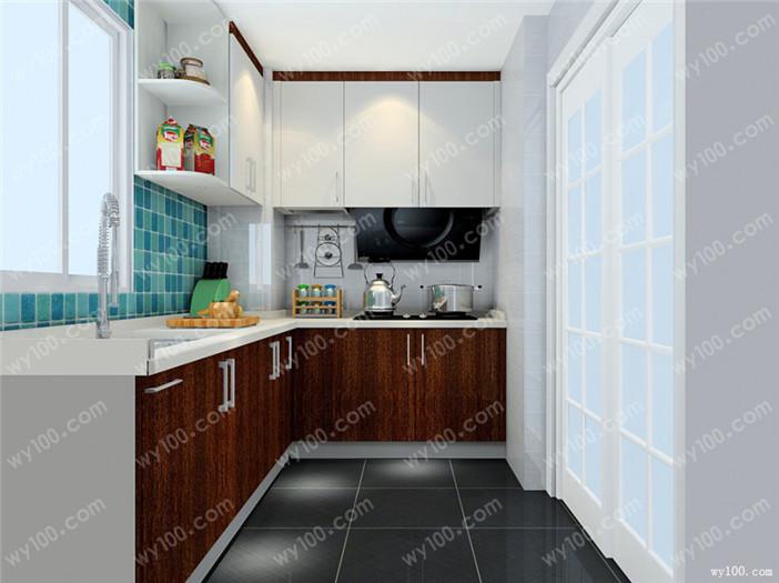 小厨房改造设计--维意家具网上商城