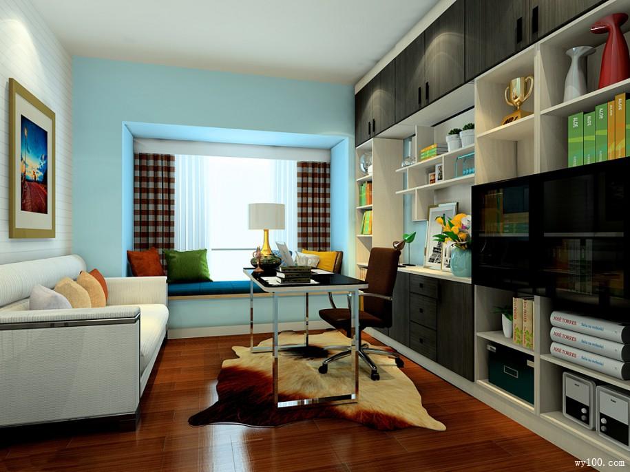 阳台书柜设计-维意家具网上商场