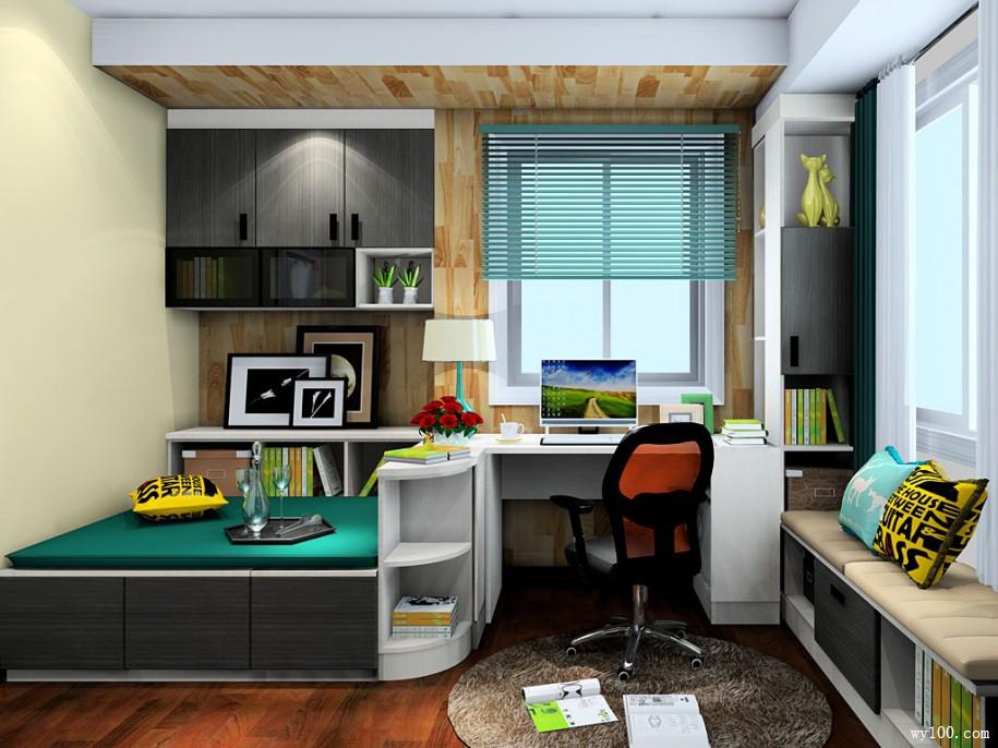 室内书柜设计,要具体位置具体分析
