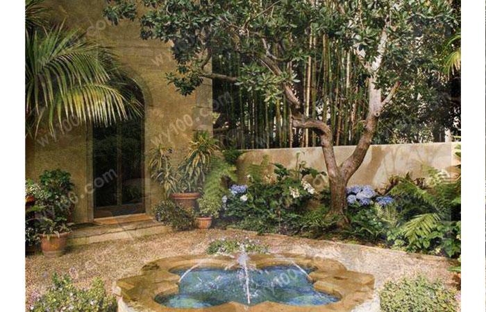 庭院鱼池风水--维意家具网上商城