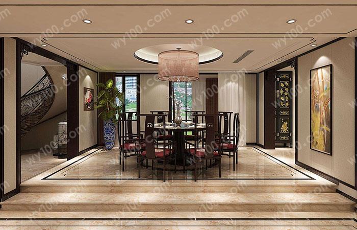 中式风格别墅装修特点--维意家具网上商城