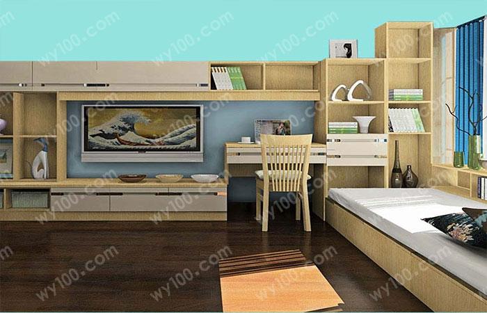 卧室书架设计-维意家具网上商城