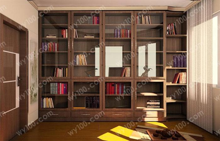 卧室书架设计,给你一个方便,快捷的环境