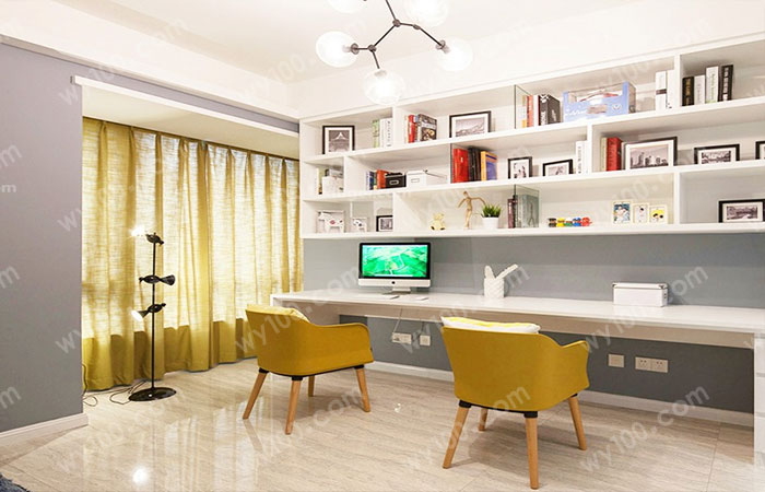 书房书架设计-维意家具网上商城