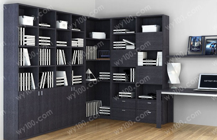书房书架设计-维意定制