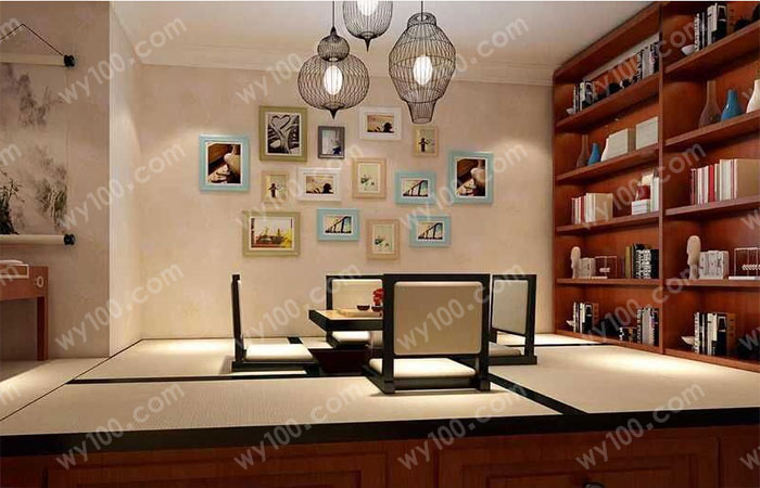 室内书架设计-维意家具网上商城