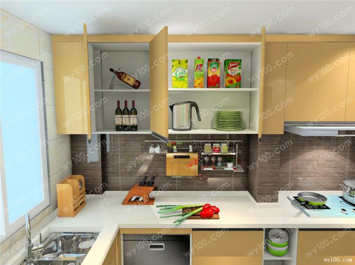 开放式厨房装修风水--维意定制网上商城
