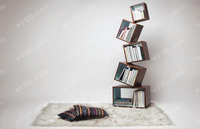 简易书架设计-维意家具网上商城